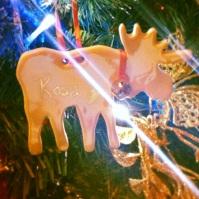 Reindeer Bauble