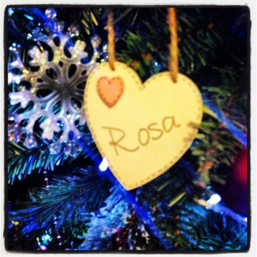 Personalised Christmas Tree Ornament